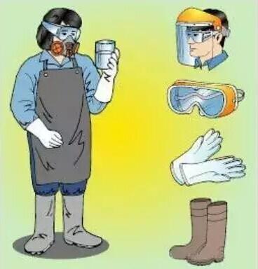 2使用适当呼吸器具,可避免吸入有害化学品 防止危化品泄漏 发生意外时图片