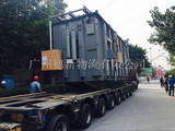大件設備運輸中轉車Transfer of large equipment in transit